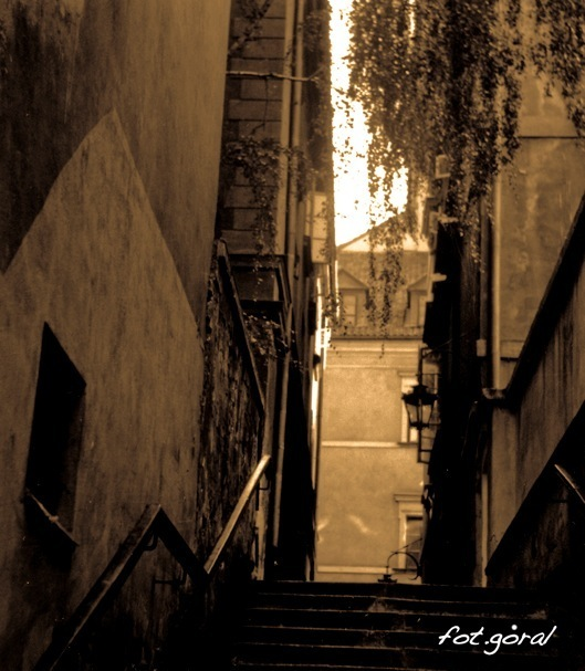 kamienne schodki street_