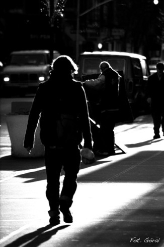 on the street_ manhattan